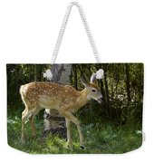 Whitetail Fawn Weekender Tote Bag