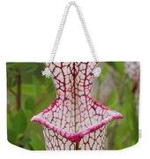 Whitetop Pitcherplant Weekender Tote Bag