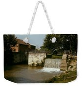 Whitewater Canal Locks Metamora Indiana Weekender Tote Bag