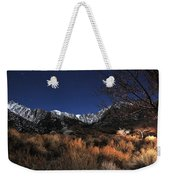 Whitney Campground View Weekender Tote Bag