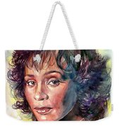 Whitney Houston Portrait Weekender Tote Bag