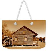 Whitney Plantation Slave Cabin In Wallace Louisiana Weekender Tote Bag