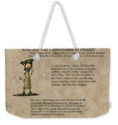Who Are The Leprechyauns Of Ireland Weekender Tote Bag