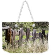 Who Ate The Fence Weekender Tote Bag
