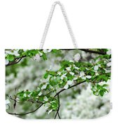 Who Doesnt Love The Spring Weekender Tote Bag
