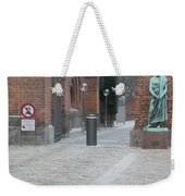 Who Goes There? Weekender Tote Bag