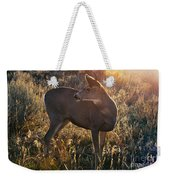 Who Is Back There Weekender Tote Bag