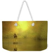 A Silent Autumn Morning Weekender Tote Bag