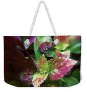 Who Needs Flowers Weekender Tote Bag