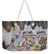 Who Said The Partys Over Weekender Tote Bag