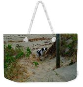 Who Said You Could Sit There? Weekender Tote Bag