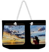 Who Watches The Watcher? Weekender Tote Bag