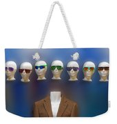 Who Shall I Be Today Weekender Tote Bag