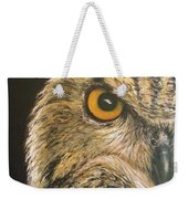 Whooo Goes There Weekender Tote Bag