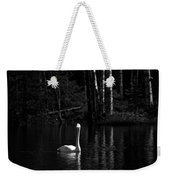 Whooper Swan In Bw 1 Weekender Tote Bag