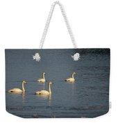 Whooper Swan Nr 8 Weekender Tote Bag