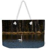 Whooper Swan Of Liesilampi 3 Weekender Tote Bag