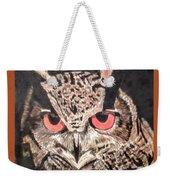 Whoot Owl Weekender Tote Bag