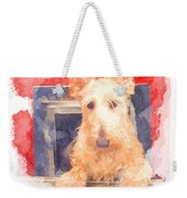 Whos That Dog In The Window? Weekender Tote Bag