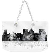 Wichita Kansas  Skyline Weekender Tote Bag