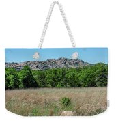 Wichita Mountains Wildlife Refuge - Oklahoma Weekender Tote Bag