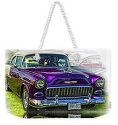 Wicked 1955 Chevy - Reflection Weekender Tote Bag