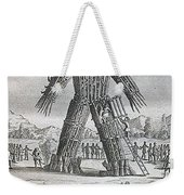 Wicker Man Weekender Tote Bag