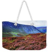 Wicklow Heather Carpet Weekender Tote Bag
