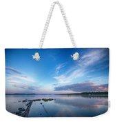 Wide Angled Sunset Over Moosehead Lake Weekender Tote Bag