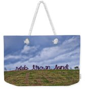 Wide Brown Land - Canberra - Australia Weekender Tote Bag