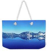Wide Crater Lake Weekender Tote Bag
