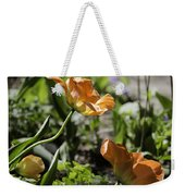 Wide Open Tulips Weekender Tote Bag
