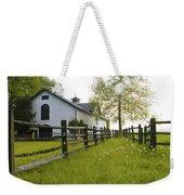 Widener Farms Horse Stable Weekender Tote Bag
