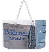 Widener University - Metropoliton Hall Weekender Tote Bag
