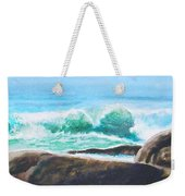 Widescreen Wave Weekender Tote Bag