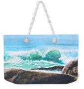 Widescreen Wave Weekender Tote Bag
