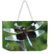 Widow Skimmer Dragonfly Weekender Tote Bag