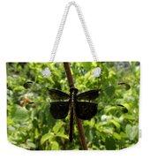 Widow Skimmer Dragonfly Female Weekender Tote Bag
