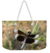 Widow Skimmer Dragonfly Male Weekender Tote Bag