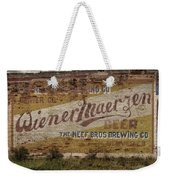Wiener Maerzen Beer Sign Victor Co Img_8703 Weekender Tote Bag