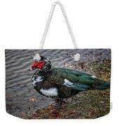 Wierd Muscovy Duck Weekender Tote Bag