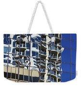 Wiggly Balconies Weekender Tote Bag