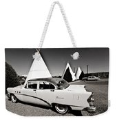 Wigwam Motel Classic Car #2 Weekender Tote Bag