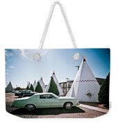Wigwam Motel Classic Car #3 Weekender Tote Bag