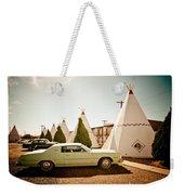 Wigwam Motel Classic Car #4 Weekender Tote Bag