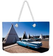 Wigwam Motel Classic Car #6 Weekender Tote Bag