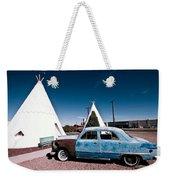 Wigwam Motel Classic Car #7 Weekender Tote Bag