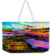 Wild And Crazy Mountainous Sunset Weekender Tote Bag