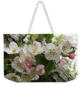 Wild Apple Blossoms Weekender Tote Bag