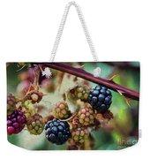 Wild Blackberries Weekender Tote Bag